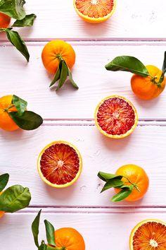 Blood Oranges, Rhubarb & Pomegranates
