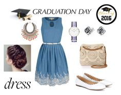 """graduatin day, class of 16!"" by martisnack ❤ liked on Polyvore featuring Yumi, Chloé, Etro, STELLA McCARTNEY, Daniel Wellington, Bling Jewelry and graduationdaydress"