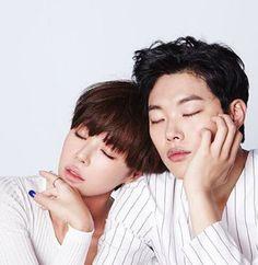 Lucky Romance: Hwang Jung Eum, Ryu Jun Yeol, Lee Chung Ah, Lee Soo Hyuk. #kdrama