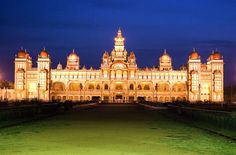 Amazing Architecture: The Palace of Mysore is a palace situated in the city of Mysore in southern India. The architectural style of the palace is commonly described as Indo-Saracenic, and blends together Hindu, Muslim, Rajput, and Gothic styles of architecture. It is a three-stone structure, with marble domes and a 145 ft five-storied tower. The palace is surrounded by a large garden.