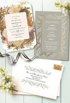 手作りの参考に!結婚式の招待状 no.47