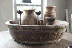 Oude olijfbakken | AURA PEEPERKORN INTERIEUR | www.aurapeeperkorn.nl
