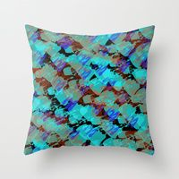 Throw Pillow featuring Bianca by Gonpart