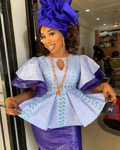 Ankara Fashion 668573507168669399 - Toucouleur Source by dionkongcisse Latest African Fashion Dresses, African Dresses For Women, African Print Dresses, African Print Fashion, Ankara Fashion, African Wedding Attire, African Attire, African Wear, Black Girls Pictures