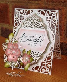Tranquil Moments die and Arianna blooms stamp/die