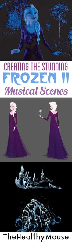 """A behind-the-scenes look at Walt Disney Animation Studios on creating the stunning Frozen 2 musical scenes, including """"Into the Unknown."""""""
