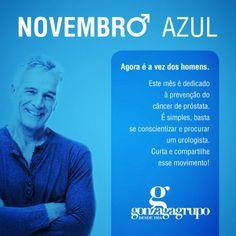 Novembro Azul | Fotos Imagens