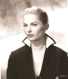 Martha Hyer was born in 1924 in Fort Worth, Texas. Description from…