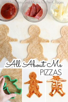 All About Me Snack Activity - Pre-K Pages