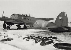 A bomber of the Romanian army being ready to take off from a field in the Odessa area. Ukraine, February 1943 - pin by Paolo Marzioli Ww2, Ukraine, Fighter Jets, Aircraft, Army, History, Planes, February, Gi Joe