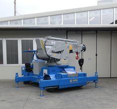 Minidrel 250B Gruniverpal, elektromos önjáró mini daru. Használat különböző iparágakban. Maximális terhelhetőség 25 000kg. Minion, Awesome, Vehicles, Tools, Model Building, Minions, Car, Vehicle
