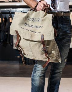 Messenger Bag Ralph Lauren ZsaZsa Bellagio: guys