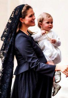 Princess Madeleine and Princess Leonore.
