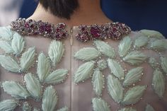 Jennifer Connelly (dress detail) attends the 'Noe' Madrid Premiere at Palafox Cinema on March 17, 2014 in Madrid, Spain