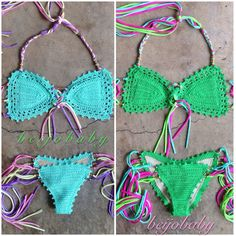 candy bikini by beijobaby on Etsy, $175.00