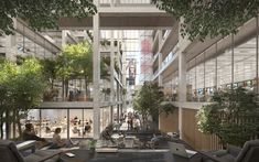 Open Office, Chinese Architecture, Architecture Office, Futuristic Architecture, Office Buildings, Studios Architecture, Classical Architecture, Landscape Architecture, Renzo Piano