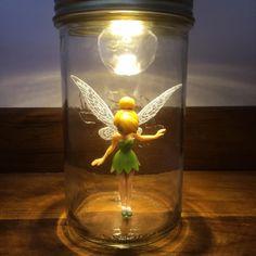 Lampe de chevet Reine des neiges, fée clochette,sonny angel, maya l'abeille ect : Luminaires par le-bocal-anime
