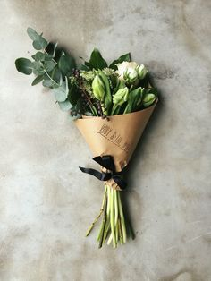 Hand-tied posy by Ruby & The Wolf