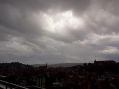 Gewitter über Tübingen