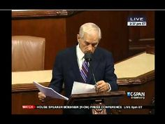 Ron Paul's Congressional Farewell Speech - C-SPAN 11/14/2012 This speech ought to be seen by EVERY American citizen.