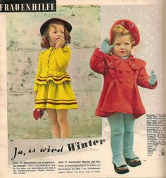 1952 ---winter in 1952 magazine