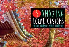 5 Amazing Local Customs You've Probably Never Heard Of   blog.frontiergap.com   frontier.ac.uk   #travel #explore #adventure #seetheworld #localcustoms #localtraditions #localcuisine #Japan #Ghana #Indonesia #Brazil #Nepal #Asia #Africa #SouthAmerica