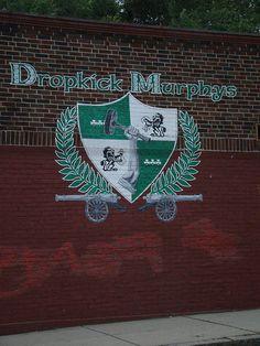Have photo taken at the Dropkick Murphys mural, South Boston.