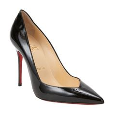 For the toe cleavage lover.  Evaluate.Shop.Style. www.ChristinaStyles.com  Evaluate.Shop.Style. www.ChristinaStyles.com Christian Louboutin Completa Pumps at Barneys.com