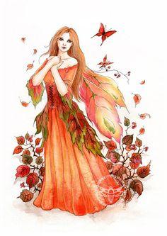 Leaves/Flower petals for wings