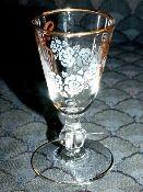 Libbey Rock Sharpe Rose Classic Cordial Glasses