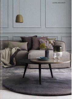 Patricia Urquiola   Beautiful neutral #sectionalsofa   Modern Sofas http://modernsofas.eu/2016/03/02/modern-sofa-design-patricia-urquiola/ #modersofas #loungesofa