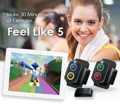 Goji Play - Make 30 minutes of exercise feel like 5!:Amazon:Sports & Outdoors