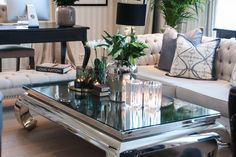 Tabletop styling - Eileen Stulen Decor, Castle House, Furniture, Interior, Table, Home Decor, House Interior, Table Top, Coffee Table