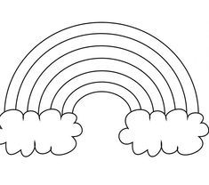 Free Printable Rainbow Coloring Pages For Kids - - Yahoo Image Search Results