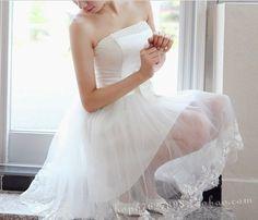 $698.36 white dress lace strapless dress- http://zzkko.com/book/shopping?note=13625