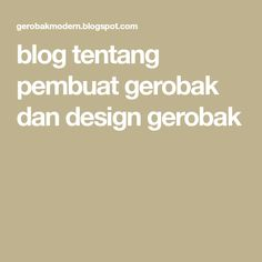 blog tentang pembuat gerobak dan design gerobak
