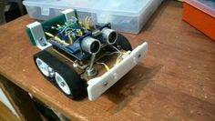 Arduino robot with BT remote control