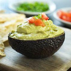Where food, family and friends gather, Simply Gourmet: 229. Avocado Pesto Hummus Dip
