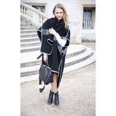 @sashapivovarona #chloe #bag #pfw street style in paris