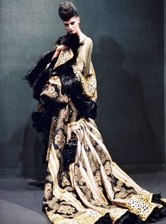 John Galliano for Givenchy,Haute Couture fall-winter 1996/1997