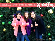 Festive Holiday Fun for Families in Dallas, Texas