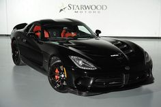 Menacing 2014 Dodge Viper SRT GTS. Awesome American Supercar!