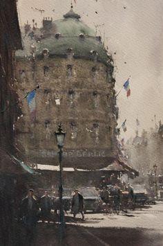 Paris Corner Joseph Zbukvic