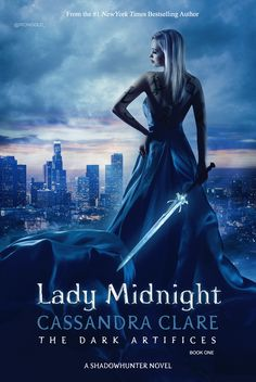 Emma — My version of 'Lady Midnight' book cover. :) Emma...