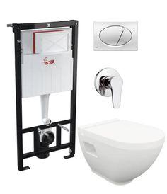 Chciałbyś umieścić w małej łazience miskę wc oraz bidet? Mamy dla Ciebie idealne rozwiązanie – Harmony OA, bardzo wygodne i komfortowe urządzenie 2 w 1. Dodatkowo skompletowaliśmy wszystkie potrzebne elementy, aby zaoszczędzić Twój czas.  Salon łazienek i sklep internetowy www.kaczucha.pl info@kaczucha.pl ul. Wronia 3 (za pawilonem Czerwona Torebka) 71-221 Szczecin Toilet, Sink, Bathroom, Home Decor, Sink Tops, Washroom, Flush Toilet, Vessel Sink, Decoration Home