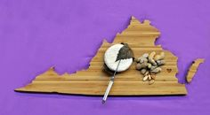 AHeirloom's Virginia State Cutting Board by AHeirloom on Etsy, $40.00