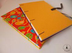 Cadernos artesanais :)