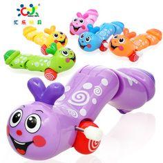 あおむしのおもちゃ  Happy Caterpillar  Clockwork Toys