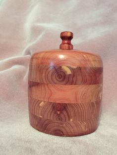 A personal favorite from my Etsy shop https://www.etsy.com/listing/231543486/handmade-cedar-wood-bowl-container-with