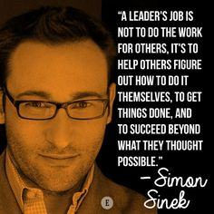 Simon Sinek on leadership